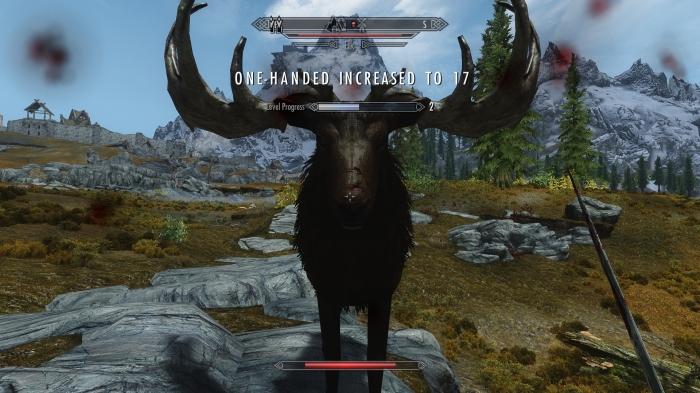Erm... Nice moosey?