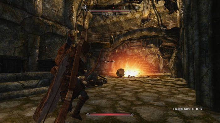 Efficiency is the key to clearing draugr-infested dungeons.