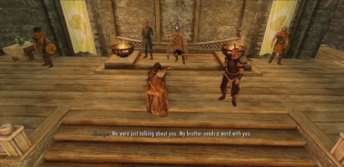 Look, I don't know what you heard, but I haven't been anywhere near that Argonian maid.