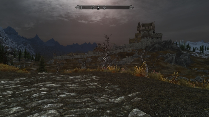 Why hasn't anyone invented the umbrella in Skyrim?