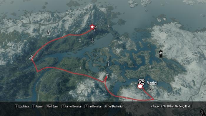 Travel Map 11.