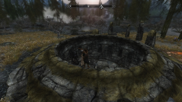 Seems like most of Skyrim is located underground.