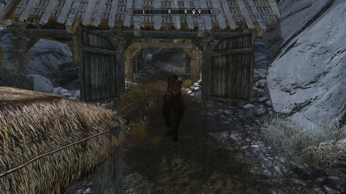 Farewell, Mudhole -- I mean Morthal!