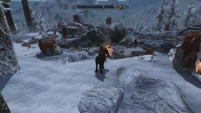 Man, Skyrim giants are hardcore survivalists.