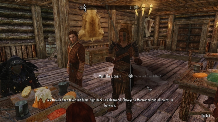 And then you wound up in Riften. That's gotta suck.