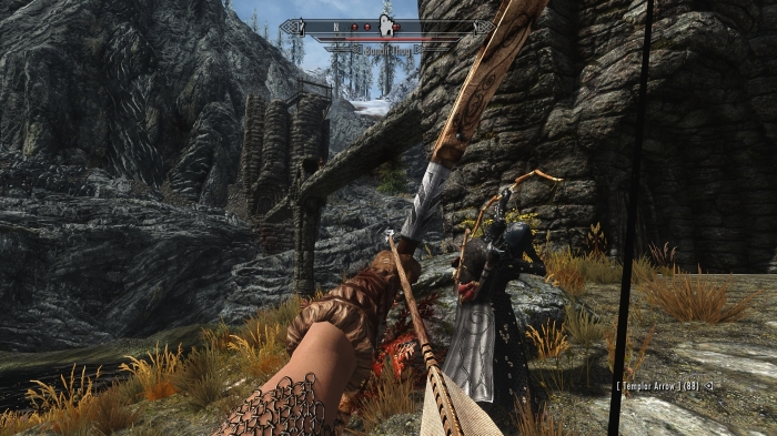 Good thing I've had plenty of archery practice.