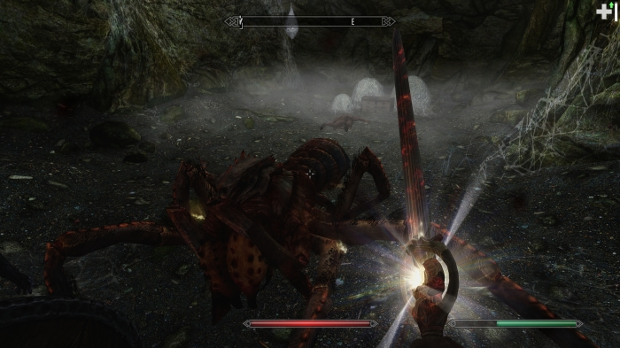 This sword is handy, but only because there's no rocket launchers in Skyrim.