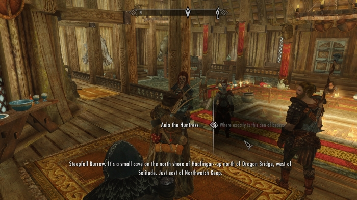Sure Aela, I'll get around to it.. Eventually.