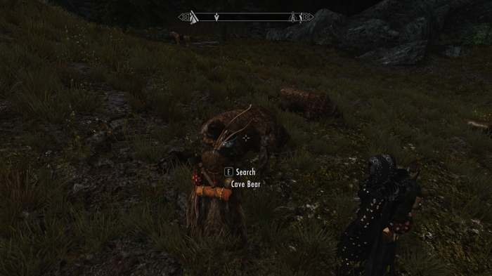 Too bad Aela doesn't need more bear pelts.