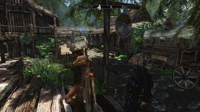 Returning to Riverwood.