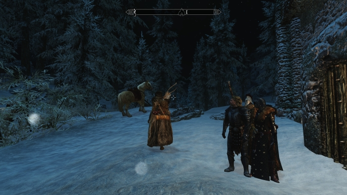 Last one to Helgen is... well, honestly, probably a frozen corpse. Try not to be that guy.