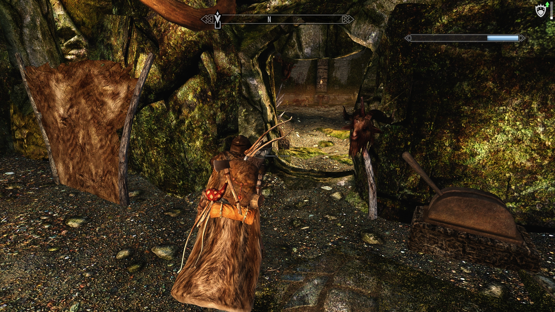 Skyrim Live Another Life Investigate Cave